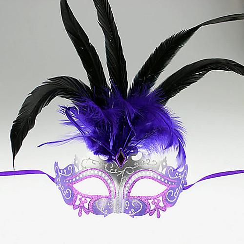 Соблазнительные девушки перо Женская Карнавал Маскарад маска Lightinthebox 858.000