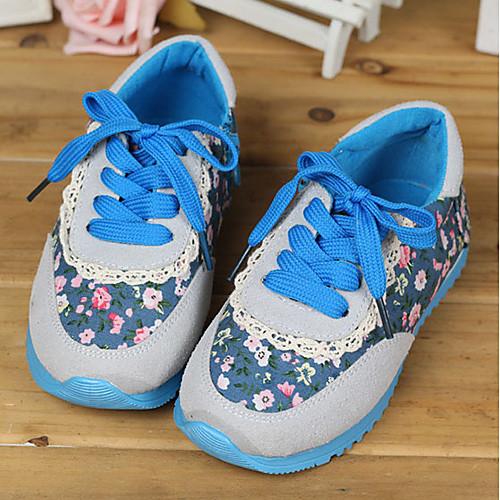 Цветочный принт Мокасины для девочек-подростков Lightinthebox 541.000