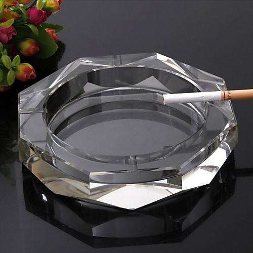 Современная Прозрачный кристалл Дом Пепельница Lightinthebox 858.000