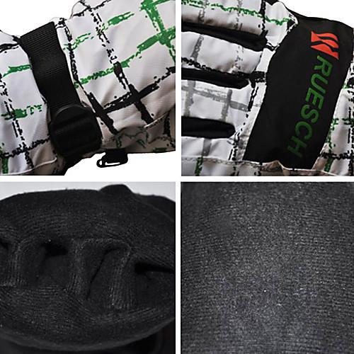 Rruesch - белый плед изоляцией катания на лыжах / Перчатки с регулируемым ремешком Lightinthebox 858.000