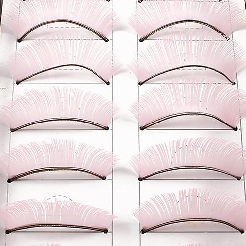 10Pcs Накладные ресницы (розовый) Lightinthebox 128.000