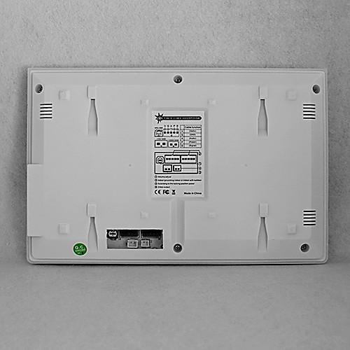 7-дюймовый TFT LCD Проводной Ночь видения Видео Домофонные Lightinthebox 14609.000