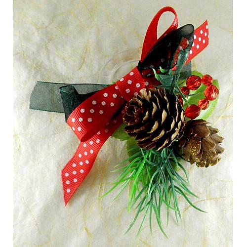 Рождество Фрукты Салфетка Кольцо набор из 12, акриловые Dia 4.5cm Lightinthebox 687.000