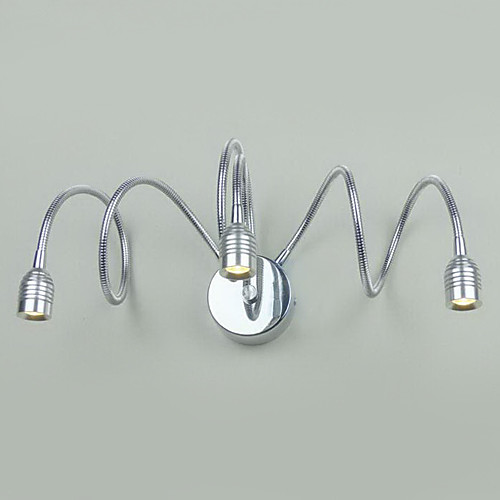 Светодиодной ванной настенный светильник, 3 Легкий, творческий гальванических Металл Lightinthebox 4296.000