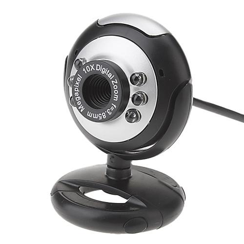 5.0 Megapixel 180 градусов вращающийся USB-накопитель без ночного видения камера с Buil микрофон Lightinthebox 128.000