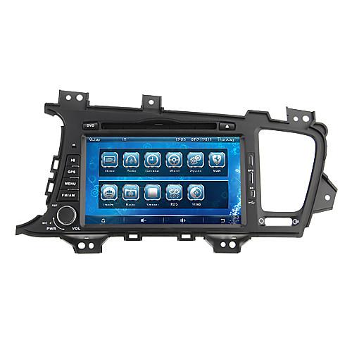 параболическая  8 дюйма 2din в тире DVD-плеер автомобиля для Kia k5/optima 2011-2013 Поддержка GPS, BT, RDS, игры, ставку Lightinthebox 9281.000