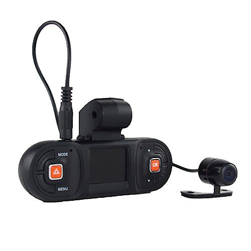 1,5-дюймовый ЖК-дисплей HD 720P Двойная камера автомобиля видеорегистратор DVR с G-Sensor обнаружения движения Кнопка SOS функции Lightinthebox 5156.000