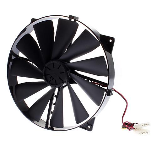 АК-FN066-BK 22см Корпус на 17см Место Массивный Airflow Fan Lightinthebox 386.000