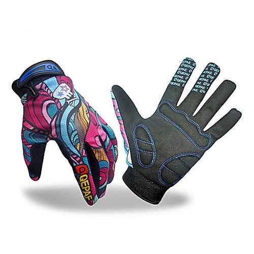 Велосипед Велоспорт Полный перчатки пальцев Защитная панель Lightinthebox 730.000
