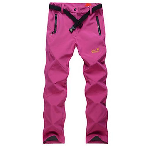 Женские штаны для лыж/сноуборда, утепленные флисом Lightinthebox 1718.000