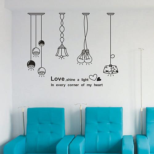 Натюрморт лампы стены стикеры Lightinthebox 1503.000