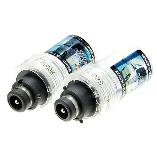 2шт автомобилей D2S Ксеноновые фары лампы Лампы AC 12V35W (4300-12000K необязательно) Lightinthebox 515.000
