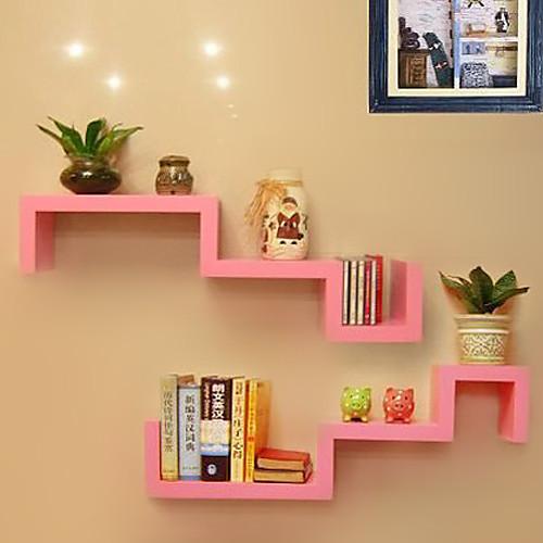Современная углеродного волокна розовый Творческий Дерево Висячие полкой для хранения (1 шт) Lightinthebox 1073.000