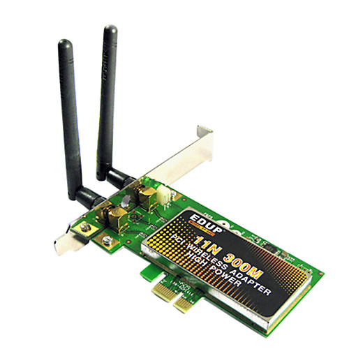 EDUP EP-9601 802.11b/g/n 300 Мбит беспроводной PCI-E LAN Card Lightinthebox 687.000