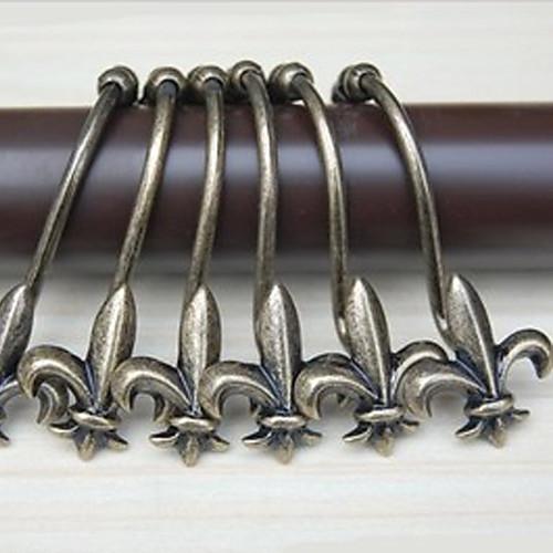 Душ занавес крючки, высокого класса Ретро Гравировка Бронзовый (12 шт) Lightinthebox 1073.000