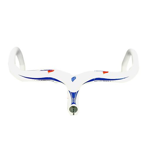 NEASTY - Полный Carbon Белый дорожный велосипед / Руль велосипедов со встроенным Stem Lightinthebox 6789.000