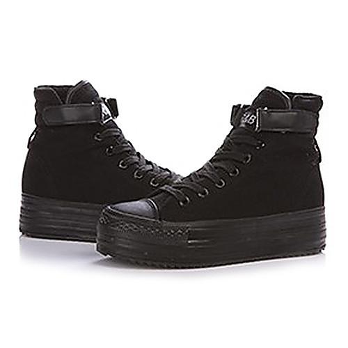 Женские джинсы Увеличение Стелька Холст обувь (черный) Lightinthebox 1331.000