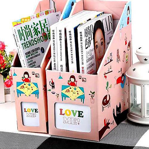 DIY моды Розовый Маленькая девочка бумаги ящик для хранения Lightinthebox 257.000