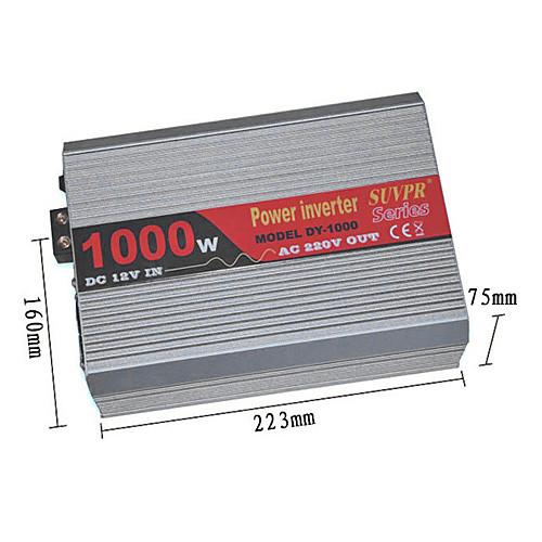Инвертор 1000W DC 12V в переменное 220V Модифицированная синусоида Lightinthebox 4038.000