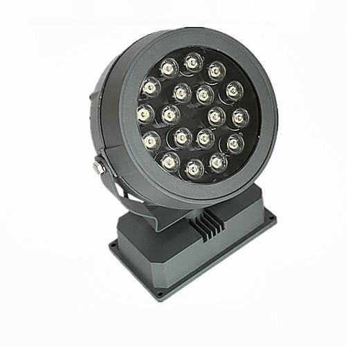 Светодиодный прожектор свет потока, 18 светодиодов, IP65 водонепроницаемый алюминиевый КТ Стекло (LEH-86024-18W) Lightinthebox 8164.000
