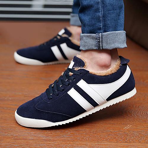 Мужские кожаные плоский каблук мода кроссовки туфли с шнуровке (больше цветов) Lightinthebox 1417.000