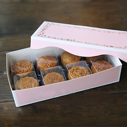 розовый кекс пользу коробка - набор из 6 Lightinthebox 343.000