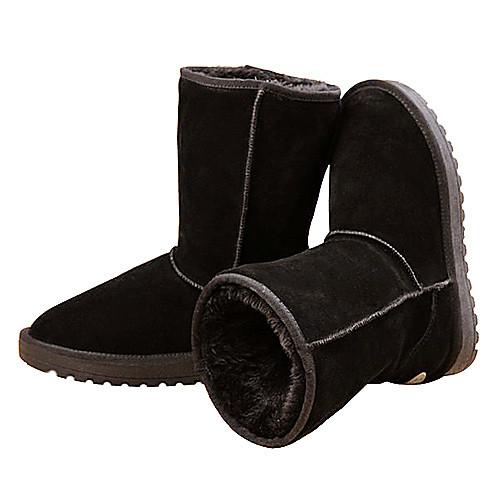 Женские Теплый Снег загрузки обувь (черный) Lightinthebox 1546.000