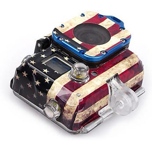 Американский флаг Дело Наклейка для GoPro HD Hero 3 жилищно Lightinthebox 214.000