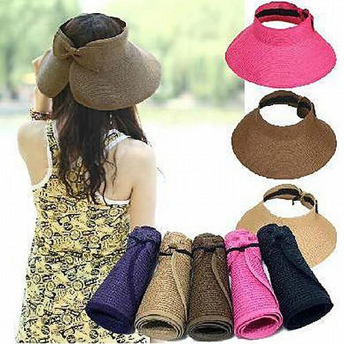 Женская мода складной Summer Sun Hat Lightinthebox 515.000