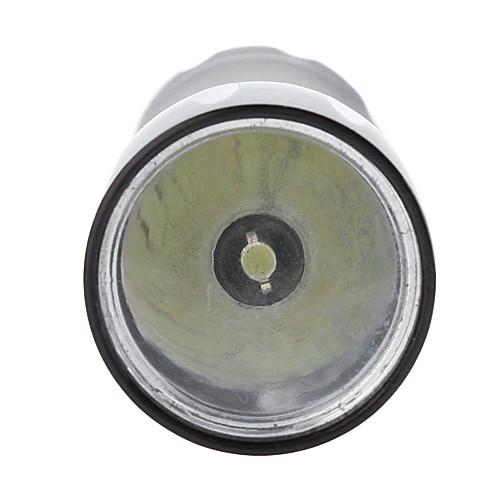 Малый ВС ZY-569 Режим Водонепроницаемый светодиодный фонарик (100 мл, 1xAA, Черный) Lightinthebox 128.000
