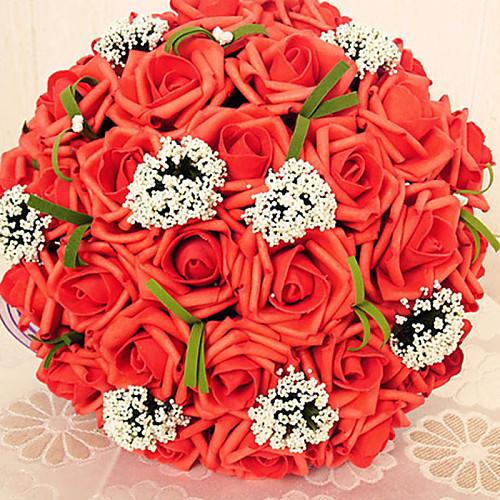 30 Главы круг Форма Свадьба / Партия букет невесты Lightinthebox 1288.000