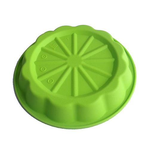 Силиконовые пирог Блюдо с линии разрезов (цвет RANDOMS) Lightinthebox 558.000