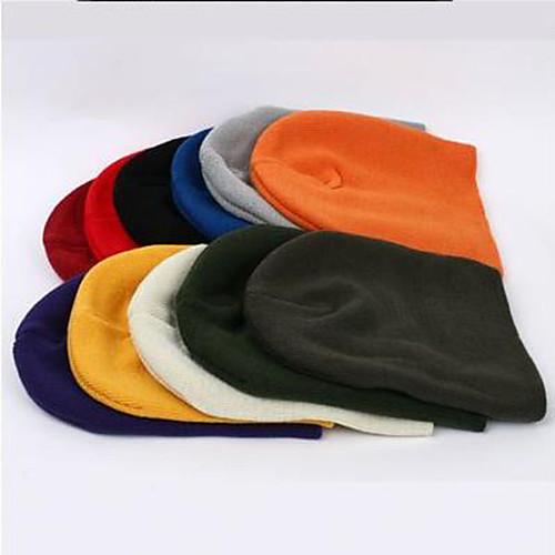 Мужская Neon Цвет вязаная шапка шапочки Lightinthebox 343.000