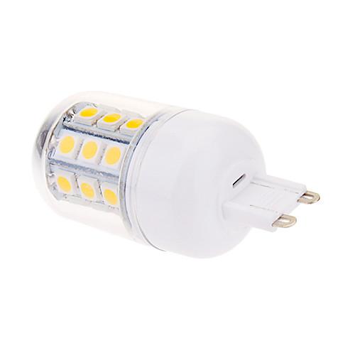 G9 4W 30x5050SMD 450LM 2800-3000K теплый белый свет мозоли СИД лампа (220) Lightinthebox 257.000