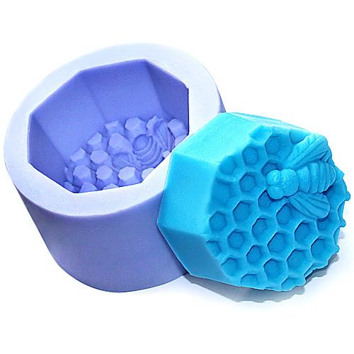 Пчела Сотовый Силиконовые мыло ручной работы / Торт / Шоколад Плесень Lightinthebox 558.000