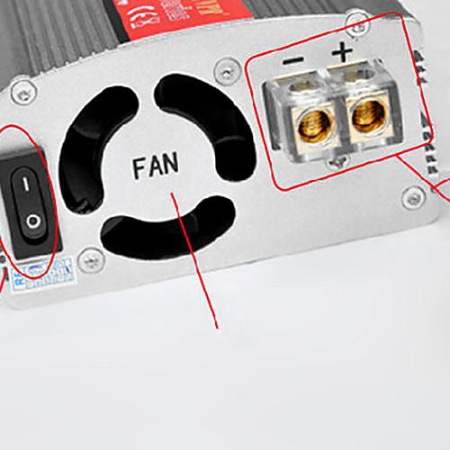 Инвертор с USB 500W DC 24V в переменное 220V Модифицированная синусоида Lightinthebox 1331.000