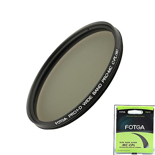 Fotga Pro1-D 77 мм ультра тонкий Mc многослойным просветлением фильтра капрал круговой поляризационный объектива Lightinthebox 685.000