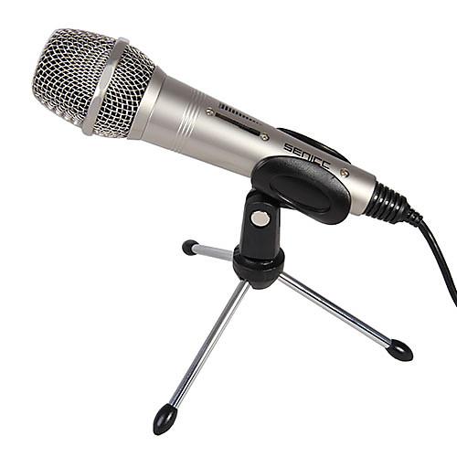 senicc см-079 микрофон компьютера с поворотной держателем и опции кабеля адаптера