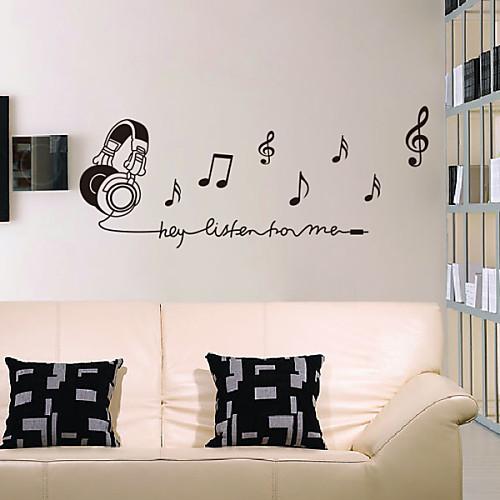 Музыкальная гарнитура стены стикеры Lightinthebox 1073.000