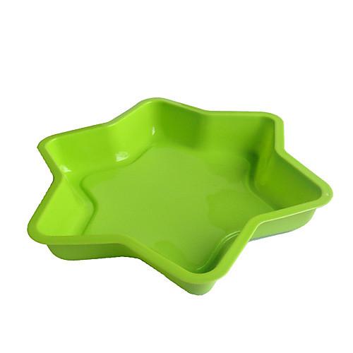 Звезда Форма торта выпечки кастрюли, силикон (цвет Randoms) Lightinthebox 450.000