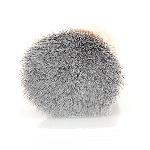 Высококачественных синтетических волос бамбуковой ручкой Многофункциональный макияж плоским Румяна / порошок Кабуки Кисточка Lightinthebox 214.000