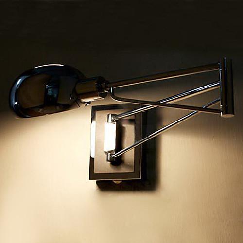 Ванная комната Настенные светильники, 1 Легкий, современный гальванических Металл Lightinthebox 3437.000