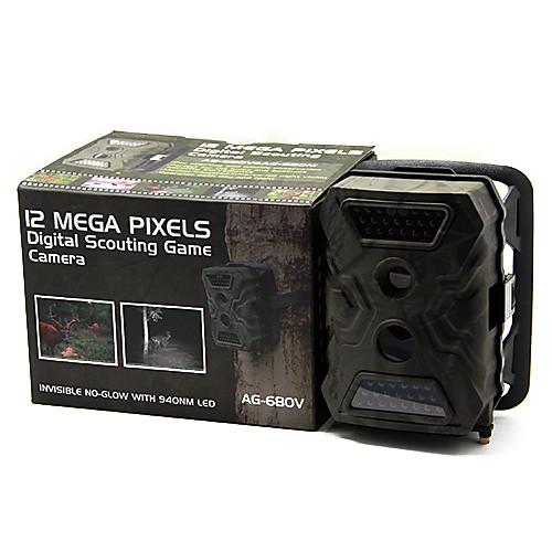 Желудь гвардии AG-680V 12MP 720P Цифровая для охоты камера с 40PCS ИК-подсветкой ночного видения Lightinthebox 6273.000