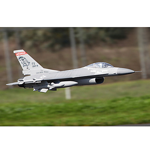 Лан Сян F16 70mm EDF 8 каналов Истребитель Самолет RC КИТ (серый) Lightinthebox 5585.000