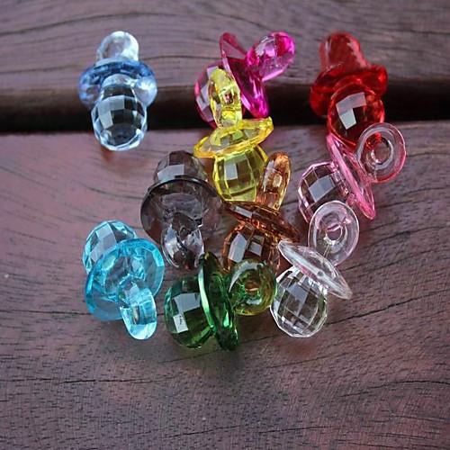 акриловая соску душа ребенка способствует Декорации для вечеринок - набор из 25 (Random Color) Lightinthebox 347.000