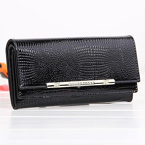 Новое прибытие высокого класса моды натуральная кожа Длинный кошелек Lightinthebox 1761.000