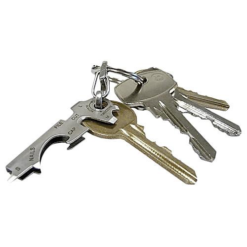 8-в-1 многофункциональный мини инструмент серебряный ключ (случайный цвет) Lightinthebox 128.000