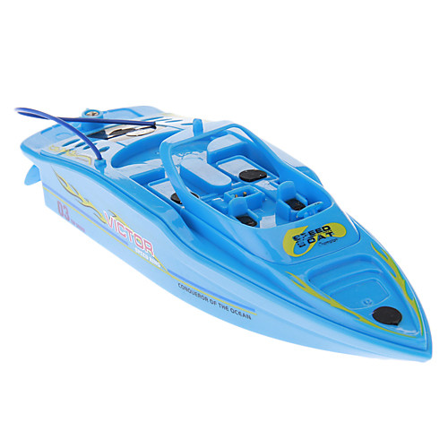 Мощные Мини RC гоночный Лодка (синий) Lightinthebox 558.000