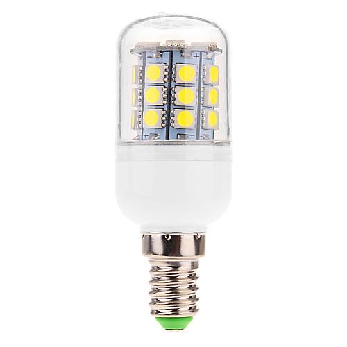 E14 6W 31x5060SMD 510LM 5500-6500K холодный белый свет мозоли СИД лампа (220-240V) Lightinthebox 257.000