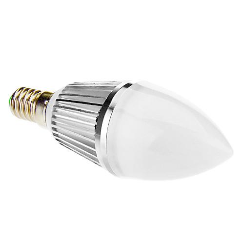 E14 8W 16x5630SMD 650LM 5500-6500K холодный белый свет свечки СИД (210-240V) Lightinthebox 386.000